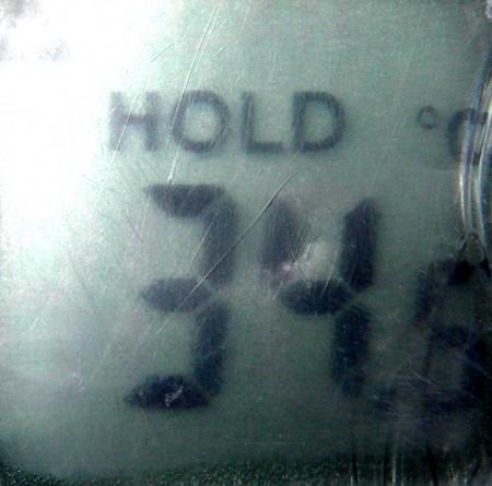 Temperature before test