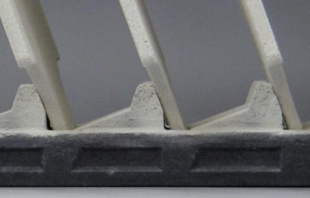 SiC棚棒とSiCセッター間の空間