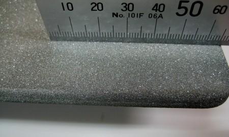 再結晶SiC板の表面