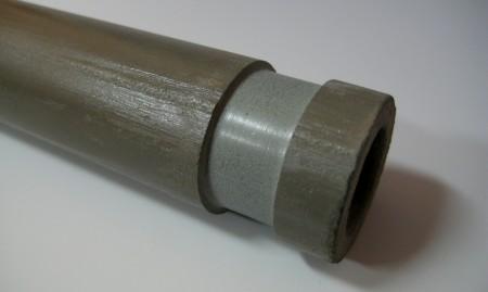 N-SiC保護管表面
