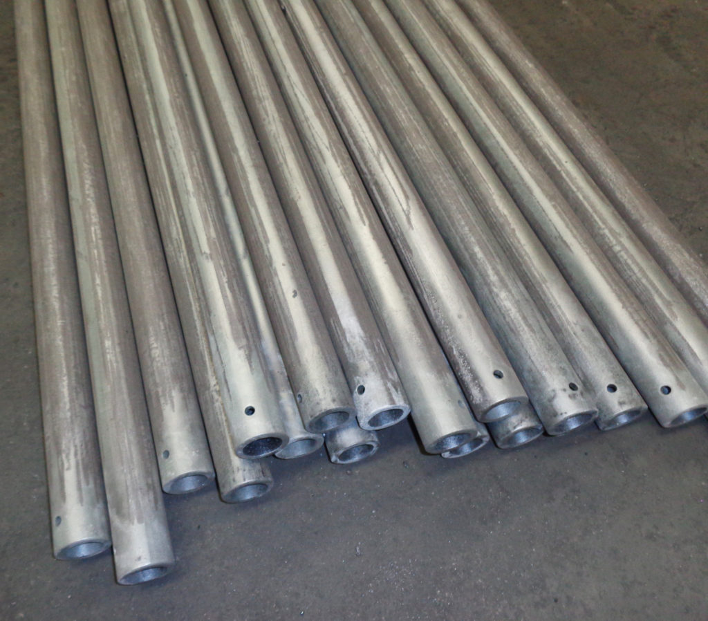 Si SiC Roller tube just after fired