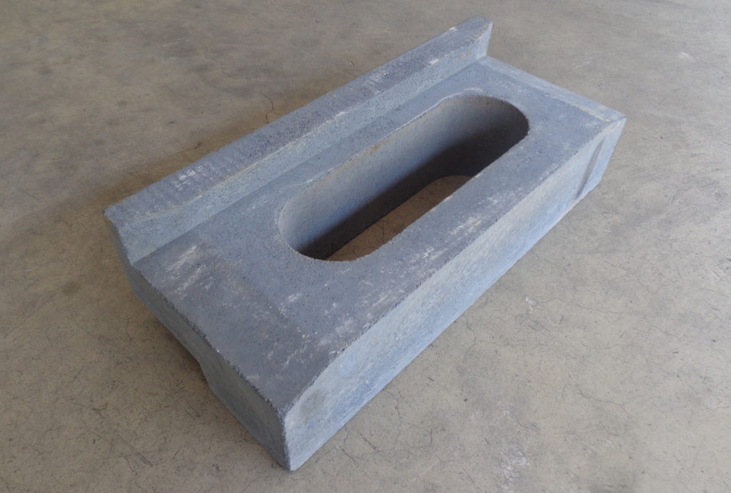 Rail for heat treatment