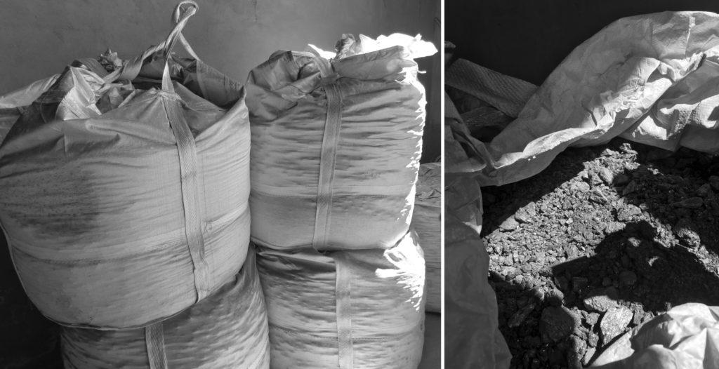 SiC ingot 1 ton bag